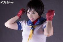 i_m_a_fighter__sakura_kasugano_cosplay__by_kitty_honey-d5tr9xu